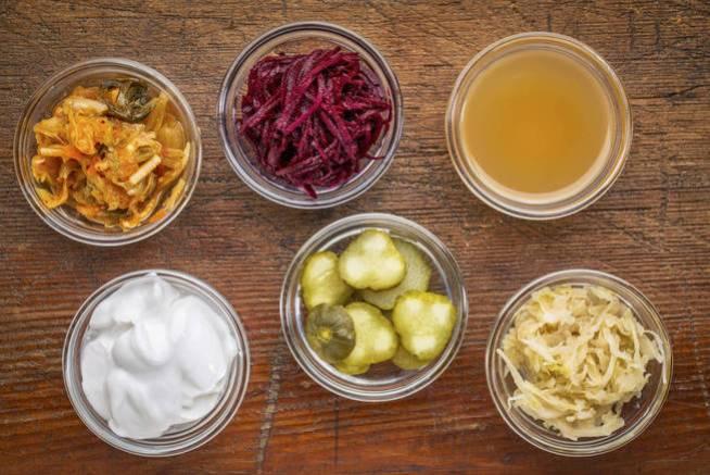 Alimentos ricos en probióticos. (iStock)