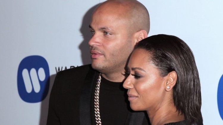 Stephen Belafonte y Melanie Brown