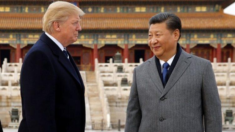 El presidente de los Estados Unidos, Donald Trump, y su par chino Xi Jinping(Reuters)