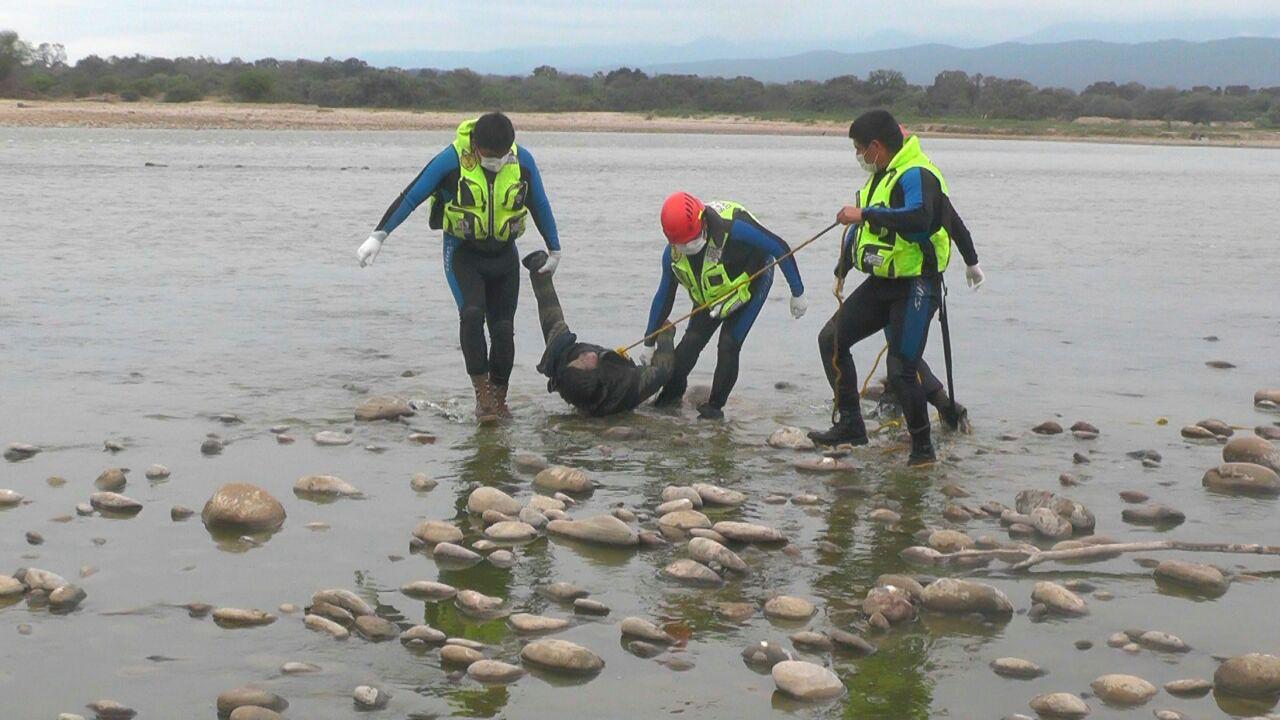 Encuentran el cadáver de un joven que estaba desaparecido en el rio Pilcomayo en Villa Montes