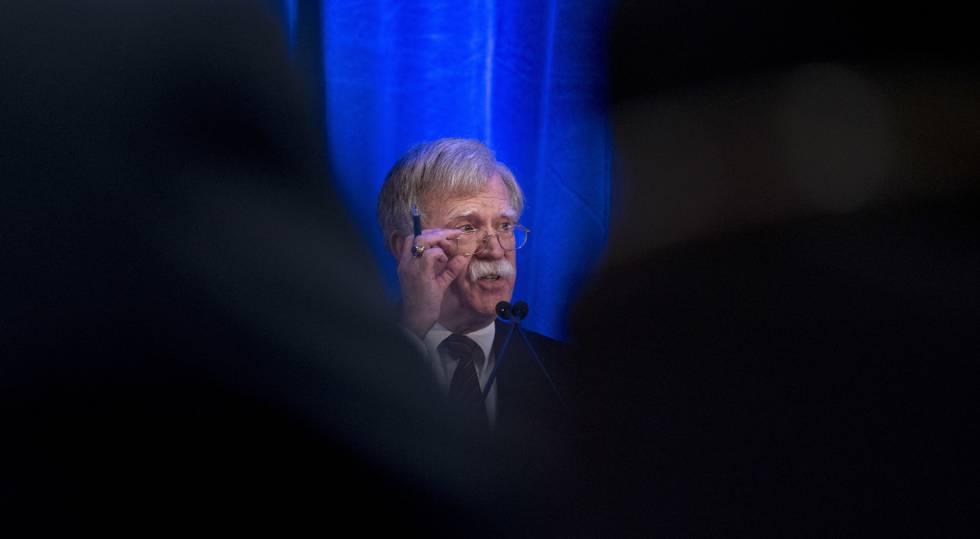John Bolton, consejero de Seguridad Nacional de la Casa Blanca.