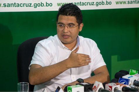 El secretario de la Gobernación, Vladimir Peña.