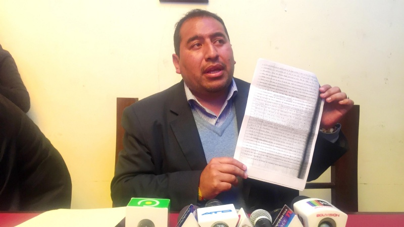 Denuncian que el Presidente del Concejo alteño tiene sentencia por narcotráfico