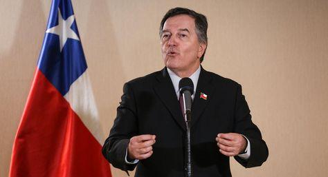 El canciller de Chile, Roberto Ampuero