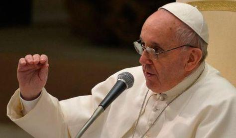 El papa Francisco durante una ceremonia religiosa. Foto: AFP