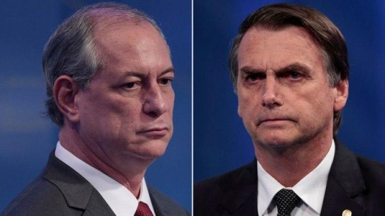 Ciro Gomes y Jair Bolsonaro