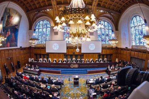 Los alegatos orales de la demanda marítima en la CIJ.