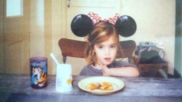 Emma Watson de niña