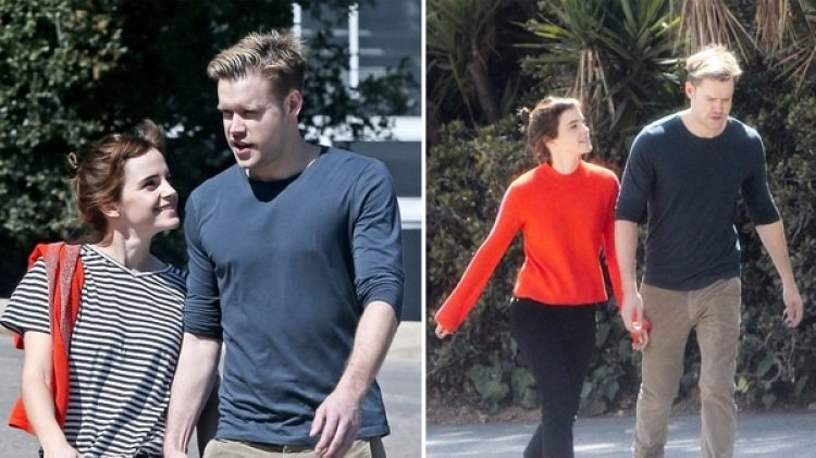 Emma Watson y Chord Overstreet (The Grosby Group)