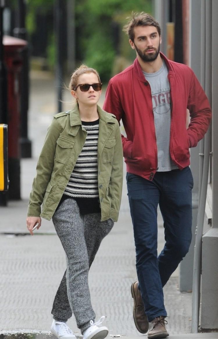 El jugador de rugby Matthew Janney y Emma Watson estuvieron juntos en 2014