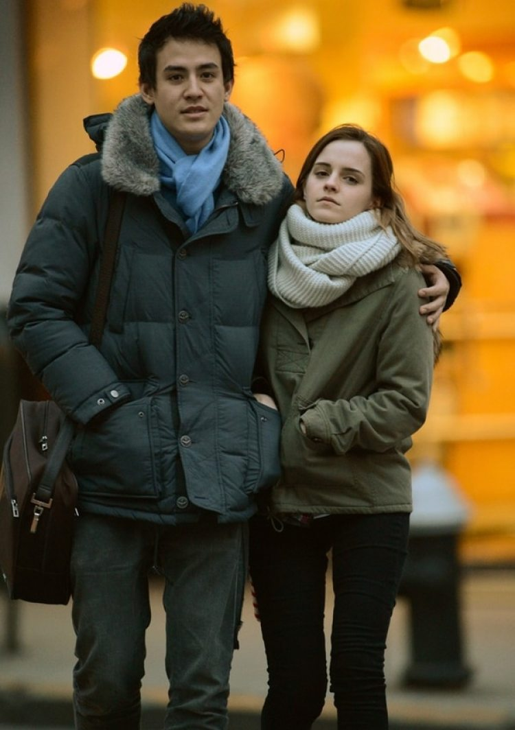 Will Adamowicz y Emma Watson salieron dos años