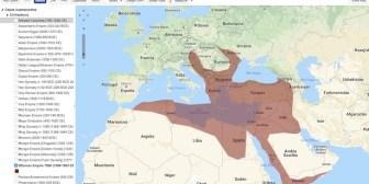 Un mapa para comparar los territorios de diferentes civilizaciones
