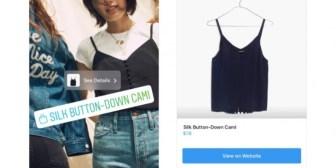 Instagram añade más opciones para comprar desde la app