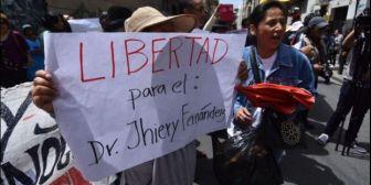 Caso Alexander: El Gobierno cree que el médico debe quedar libre y la Fiscalía alejarse