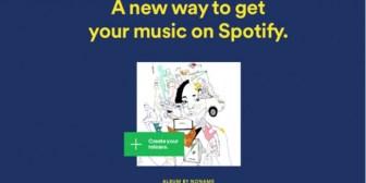 Spotify permite que músicos independientes suban sus propias canciones