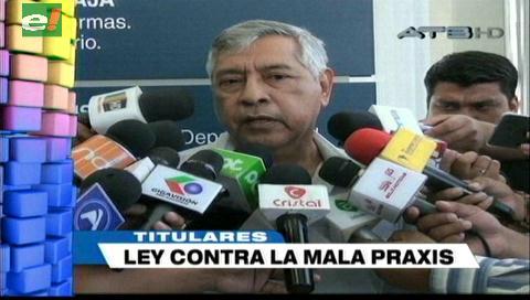 Video titulares de noticias de TV – Bolivia, noche del jueves 6 de septiembre de 2018
