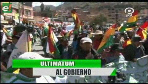 Video titulares de noticias de TV – Bolivia, noche del lunes 3 de septiembre de 2018