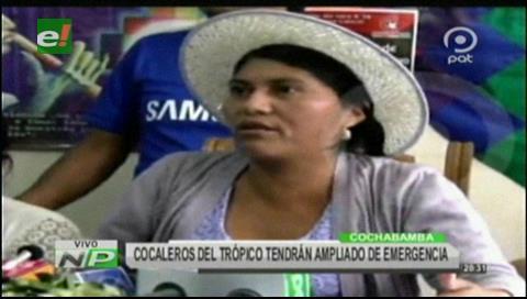 """Cocaleros del trópico dicen que Gutiérrez es """"cabecilla de los narcos y terroristas"""""""