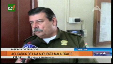 Detienen a dos médicos por un caso de negligencia contra una menor en Yacuiba