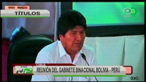 Video titulares de noticias de TV – Bolivia, mediodía del lunes 3 de septiembre de 2018
