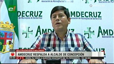 Amdecruz respalda al alcalde de Concepción