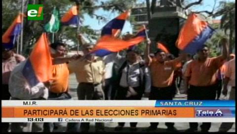 El MIR participará de las elecciones primarias