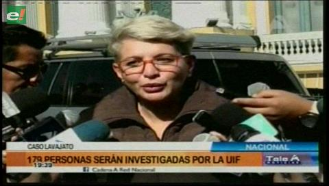 Diputada Susana Rivero confirma que hubo sobornos en construcción de carreteras