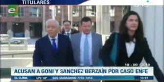 Video titulares de noticias de TV – Bolivia, mediodía del miércoles 19 de septiembre de 2018