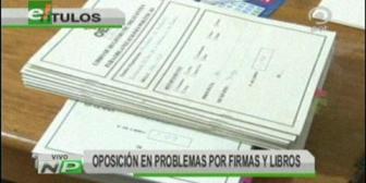 Video titulares de noticias de TV – Bolivia, mediodía del viernes 21 de septiembre de 2018