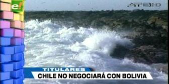 Video titulares de noticias de TV – Bolivia, noche del viernes 21 de septiembre de 2018