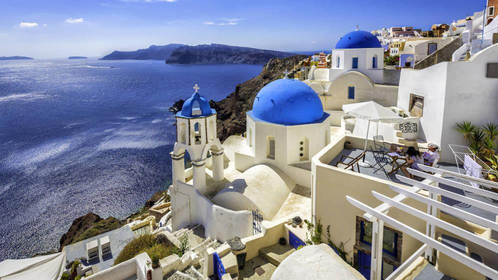 Foto: Santorini, una de las joyas del Egeo