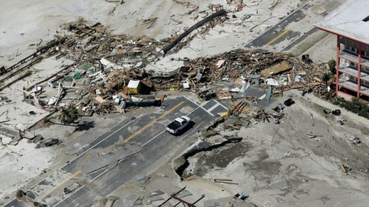 Imágenes de devastación en Florida por el paso de Michael. (AP)