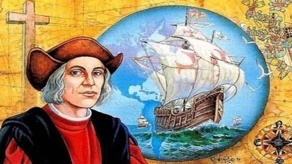 Foto: Ilustración sobre Colón y el descubrimiento de América.