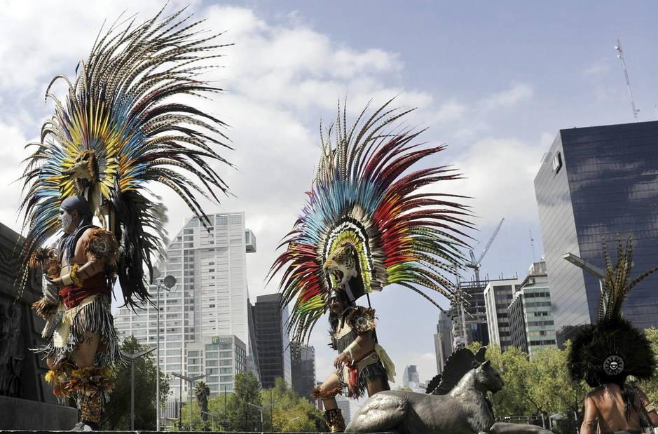 Día de la Raza en 2012 en Ciudad de México. (EFE)