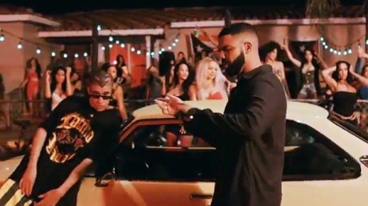 """Bad Bunny y Drake lanzaron su nuevo dueto, """"Mía"""""""