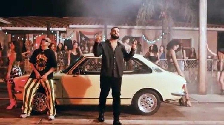 """Drake canta en español en la canción """"Mía"""""""
