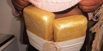 Caen seis bolivianos llevando droga a Chile