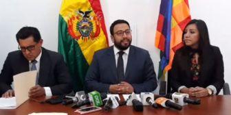 Gobierno demanda a Leyes y a su hermana por manejo de una red de corrupción municipal en Cochabamba