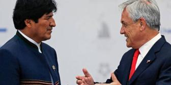 """Piñera opta por dar """"un periodo de reflexión"""" antes de reanudar el diálogo con Bolivia"""