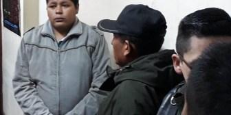 Rechazan por segunda vez el pedido de cesación de detención de Franclin Gutiérrez