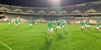 Bolivia concluye entrenamiento para el partido con Irán