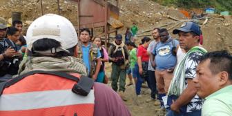 """AJAM: """"bandas criminales"""" impidieron la aprehensión de chinos y colombianos que explotaban oro"""