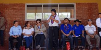 Morales afirma que su Gobierno cumplió la agenda de octubre