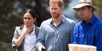Los duques de Sussex rompieron el protocolo real para sacarse una foto