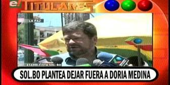 Video titulares de noticias de TV – Bolivia, noche del lunes 15 de octubre de 2018