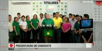 Video titulares de noticias de TV – Bolivia, mediodía del martes 9 de octubre de 2018