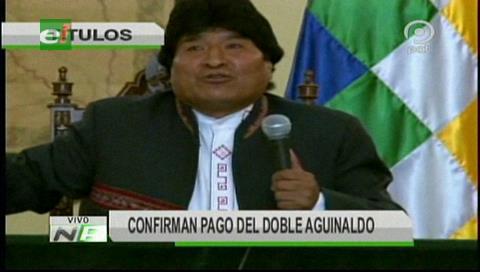 Video titulares de noticias de TV – Bolivia, mediodía del miércoles 10 de octubre de 2018