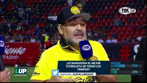 Maradona: «No endiosemos más a Messi»