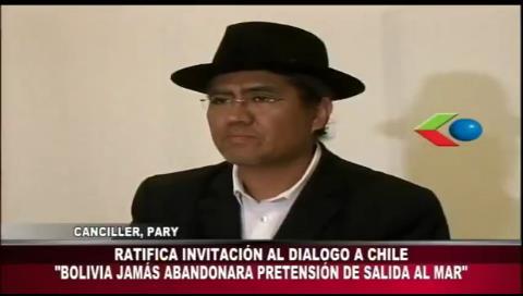 Pary rechaza declaraciones de autoridades chilenas y reitera invitación al diálogo