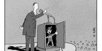 Caricaturas de Bolivia del jueves 11 de octubre de 2018